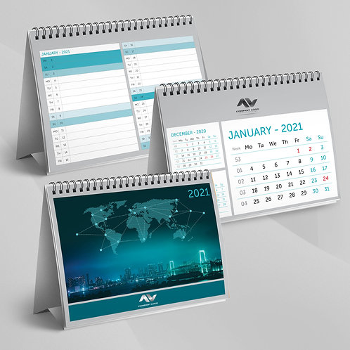 Calendar Triptic cu Planner - 56