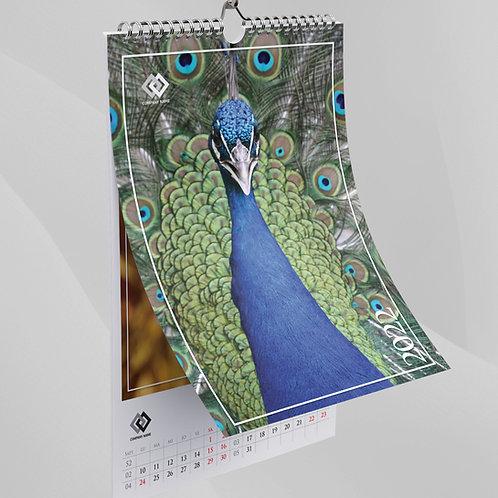 Calendar Rapsody in blue - 64
