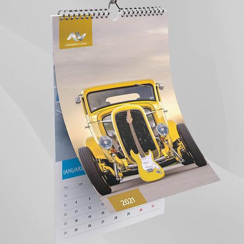 Calendar Old Cars - 79