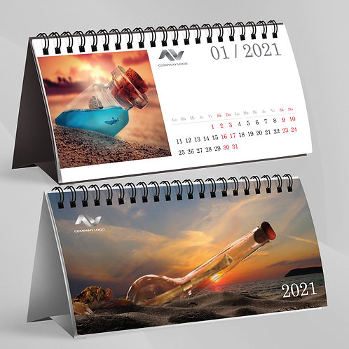 "Calendar ""Message in the bottle"" - 29"