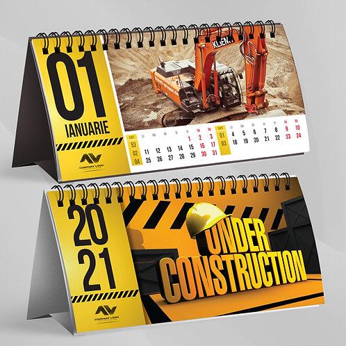 Calendar Under Construction - 19