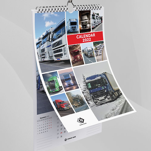 Calendar Camioane - 66