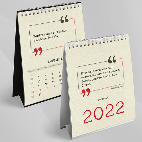 Calendar Citate - 33