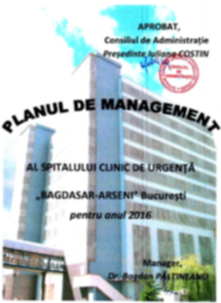 Plan de Management 2016