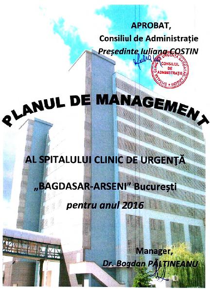 Plan de Management 2016