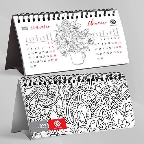 Calendar de Colorat - 22