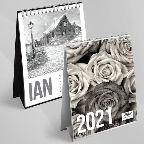 Calendar Alb Negru - 37