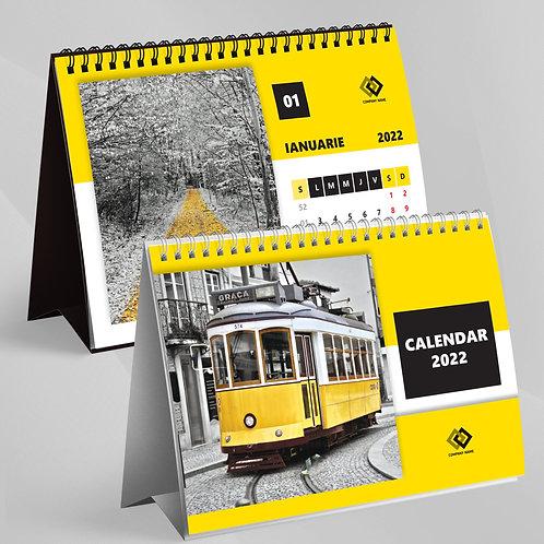 Calendar Yellow - 36