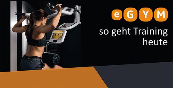 """Fitness-App """"eGym"""""""