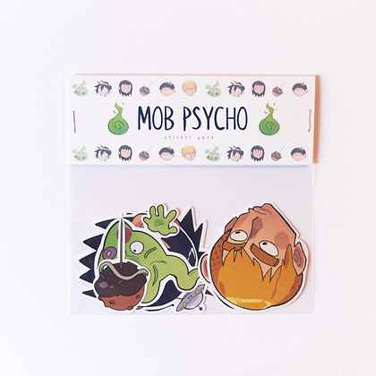 Mob Psycho Sticker Pack
