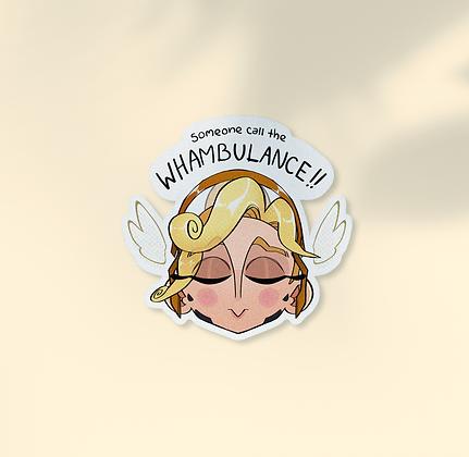 Mercy Whambulance Sticker