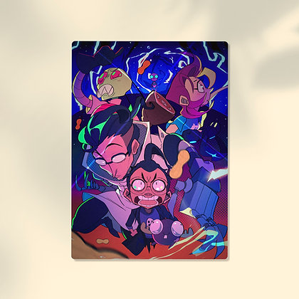 Invader Zim: Enter the Florpus Print