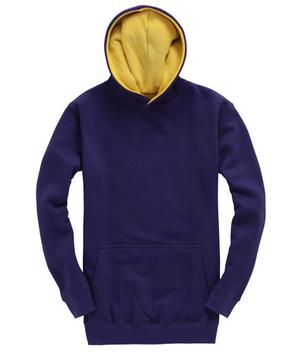 Violet/jaune