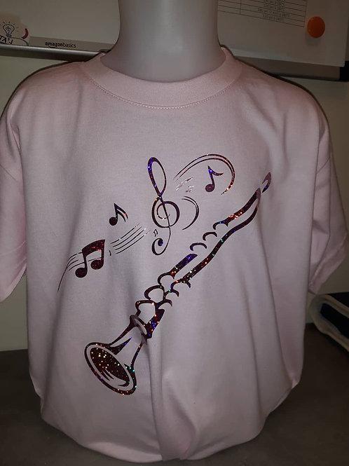 """Tee-shirt """"Clarinette"""""""