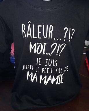 "Tee-shirt""râleur"""