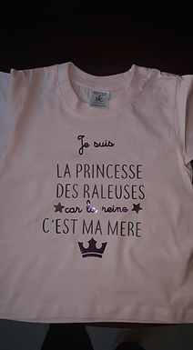 Tee-shirt Princesse râleuse