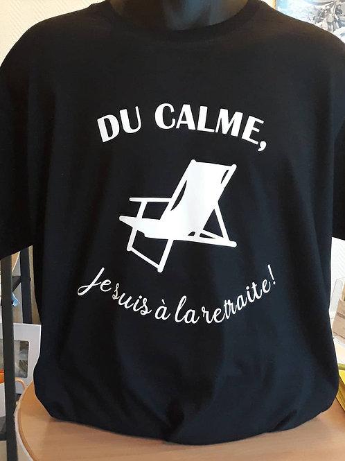 """Tee-shirt """"Calme"""""""