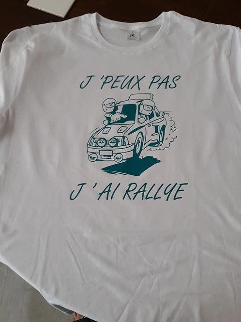 "Tee-shirt ""Rallye"""