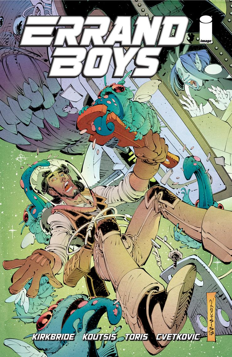 Errand Boys Cover#5 by Nikos Koutsis