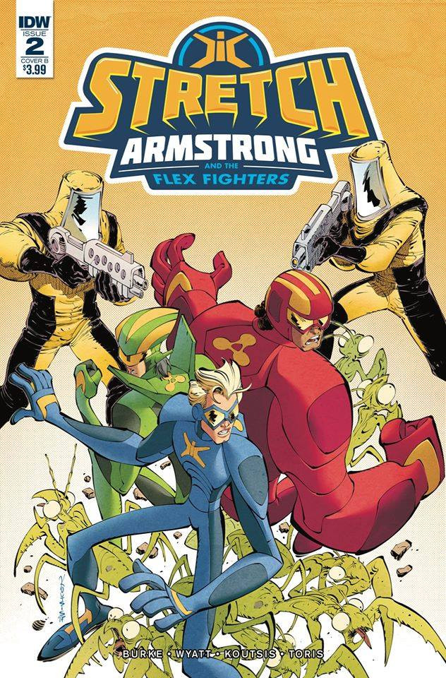 STRETCH ARMSTRONG #2 by IDW Publishing