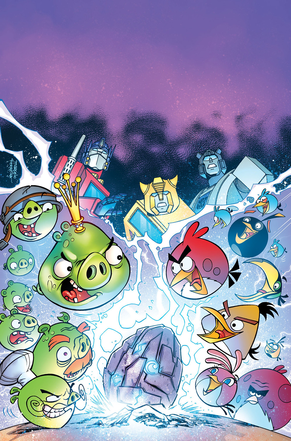 ANGRY BIRDS TRANSFORMERS by IDW Publishing