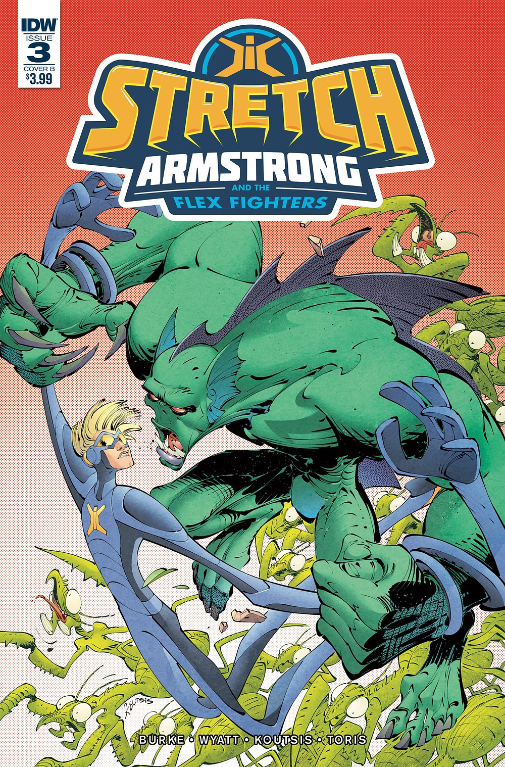STRETCH ARMSTRONG #3 by IDW Publishing