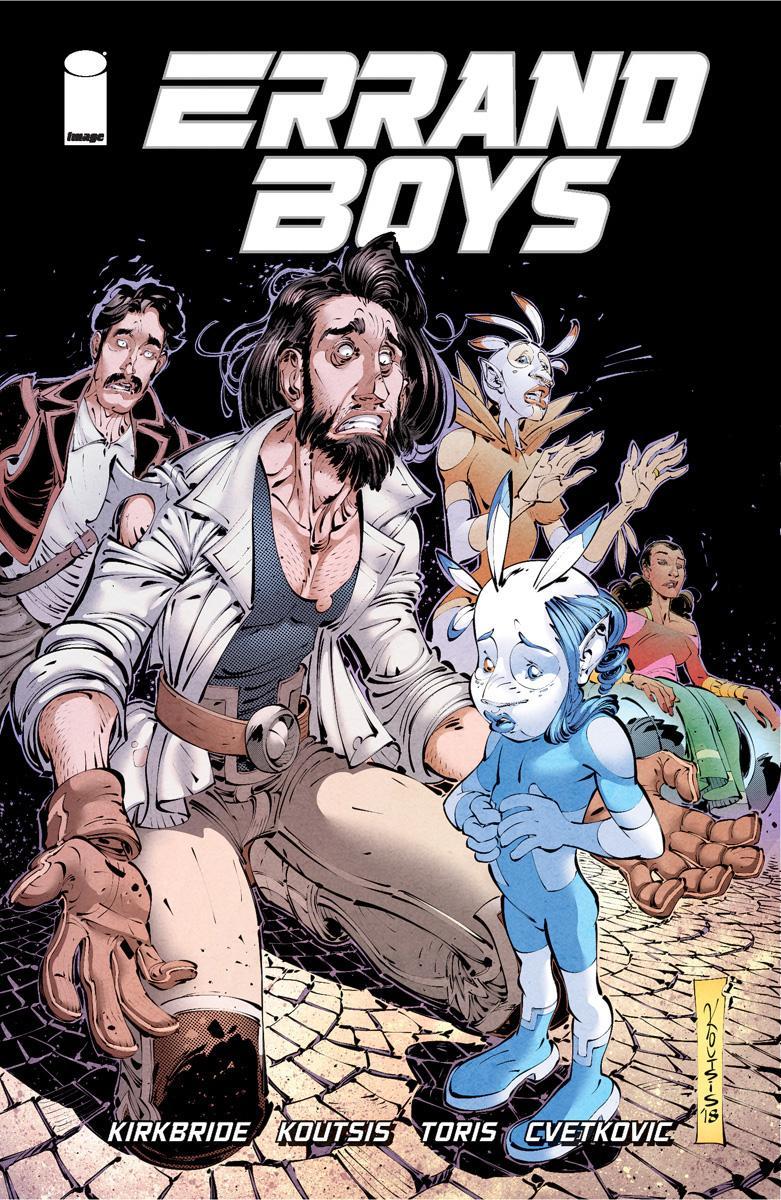 Errand Boys Cover#4 by Nikos Koutsis