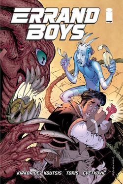 Errand Boys#2 Cover by Nikos Koutsis