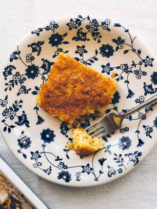 Vegan Portokalopita (Orange&Cinnamon Phyllo Cake)