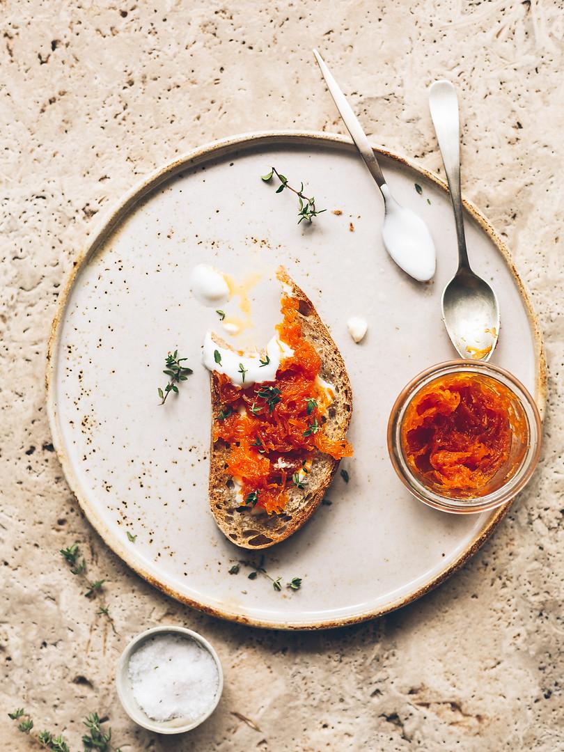 Preserved: Spiced Carrot & Orange Jam
