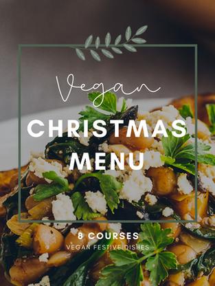 8 Courses Vegan Christmas Menu