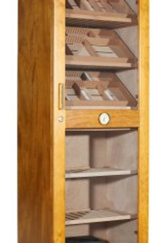 Adorini Roma Humidor Cabinet Mahogany - with electronic humidification