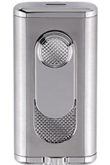 Xikar Verano Flat Jet Flame Cigar Lighter Silver
