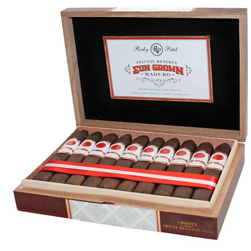 Cigar of the week special offer. Rocky Patel Sun Grown Maduro Petit Belicoso