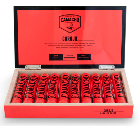 Camacho Corojo box new world cigar uk ci