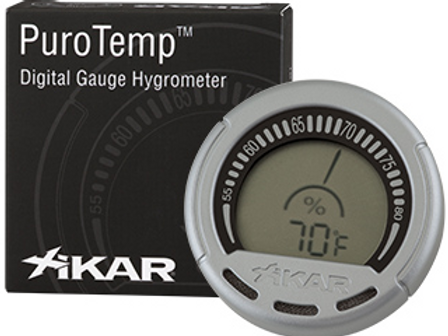 Xikar PuroTemp Digital Cigar Hygrometer