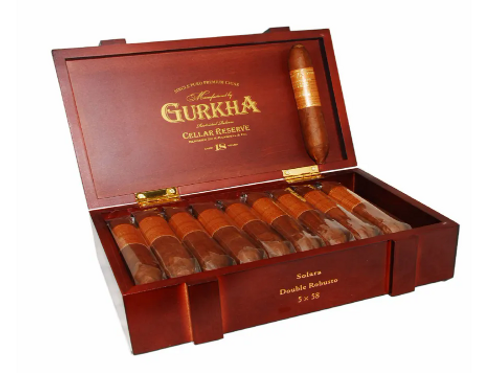 Gurkha Cellar Reserve 18 Year Old Solara Double Robusto Cigar