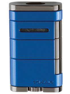 Xikar Allume Double Jet Flame Lighter Blue