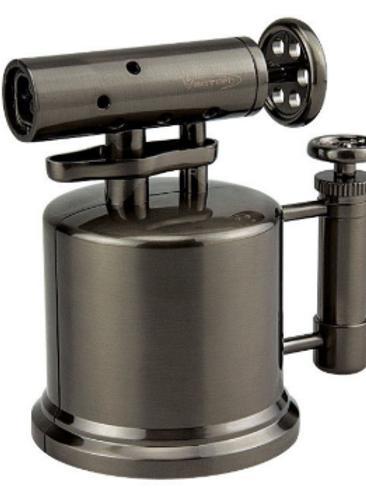 Vector Quad Pump Table Top Lighter Gunmetal