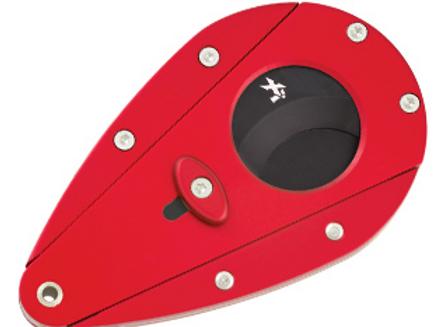 Xikar Xi1 Cigar Cutter Red With Black Blades