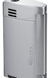 Vector Magnum Single Jet Flame Lighter Satin Chrome