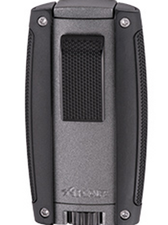 Xikar Turismo Double Jet Flame Lighter Gray