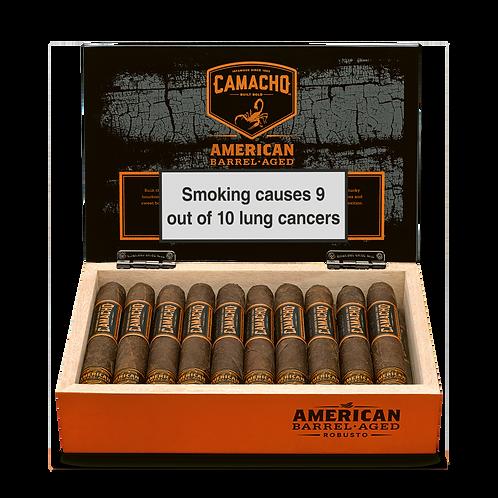 Camacho American Barrel Aged Robusto Cigar - cello