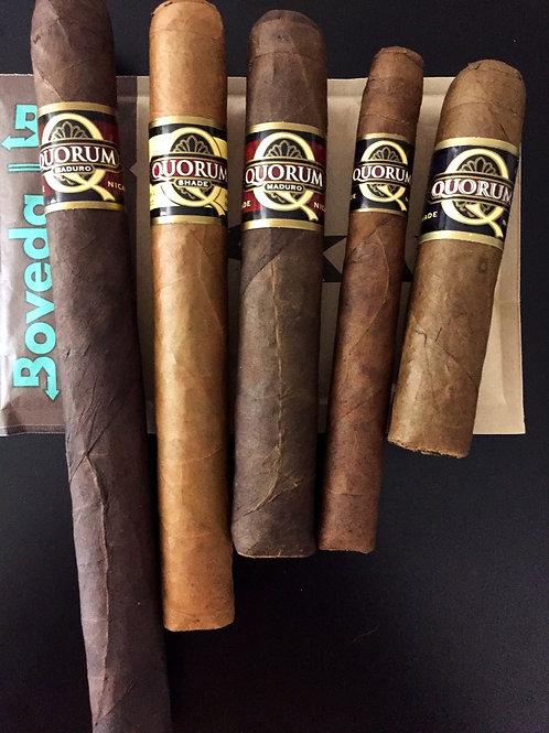 The Shades of Quorum Cigar Sampler