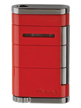 Xikar Allume Single Jet Flame Cigar Lighter Red
