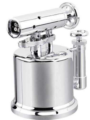 Vector Quad Pump Table Top Lighter Chrome