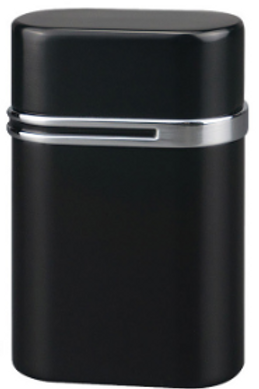 Vector Thundra Triple Jet Flame Table Top Cigar Lighter Black