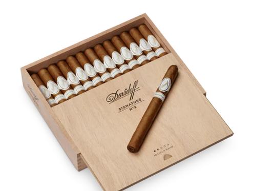 Davidoff Signature No2 Tubos Panetela Cigars
