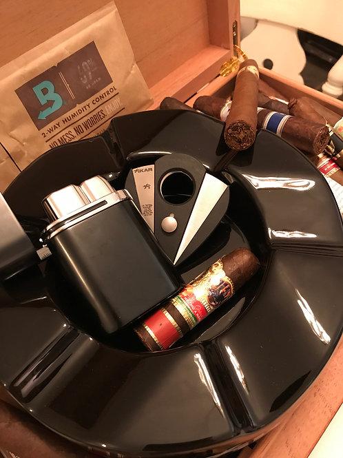 Xikar Wave, Xi2 Cigar Cutter & Vector Thundra Cigar Lighter