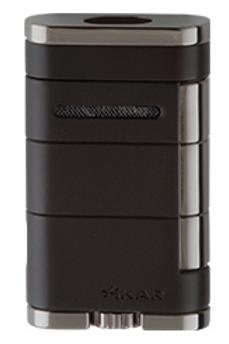 Xikar Allume Double Jet Flame Lighter Black